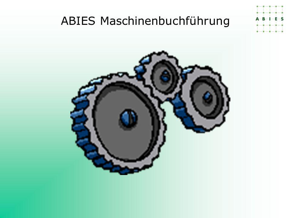ABIES Maschinenbuchführung