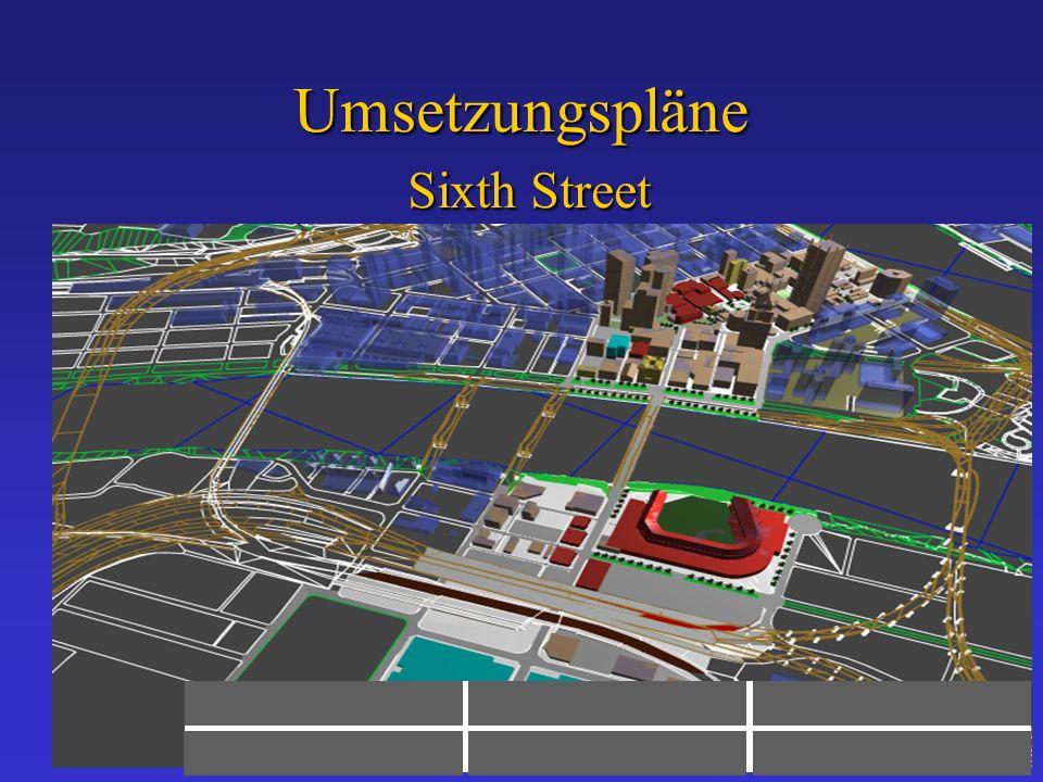 Umsetzungspläne Sixth Street