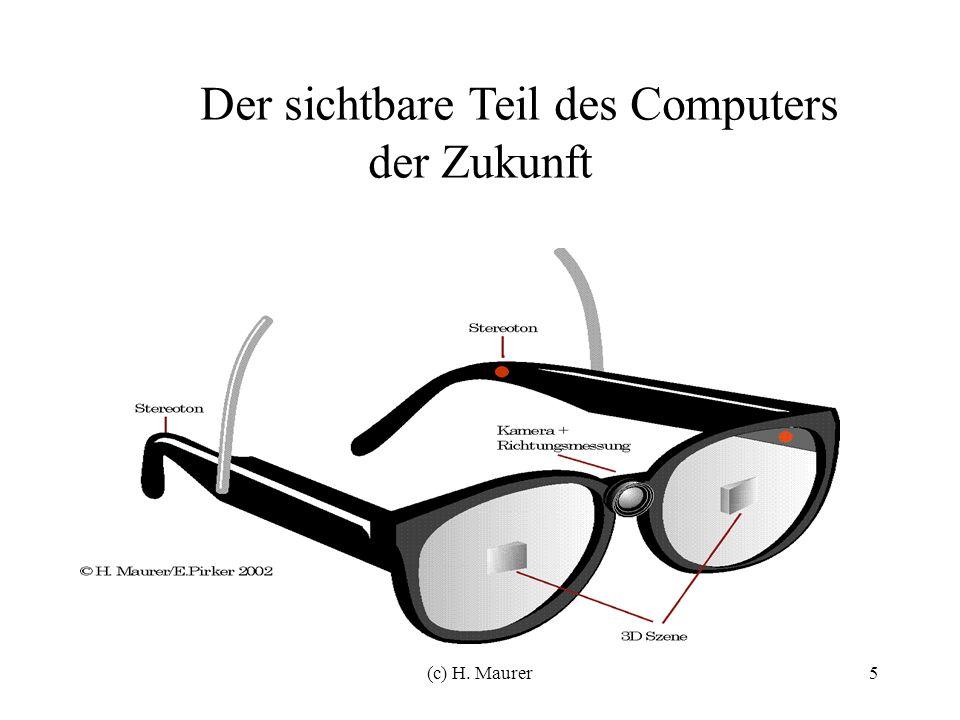 5 Der sichtbare Teil des Computers der Zukunft