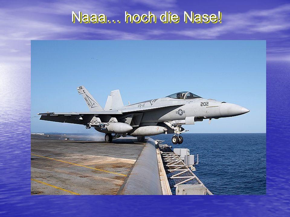 Naaa… hoch die Nase!