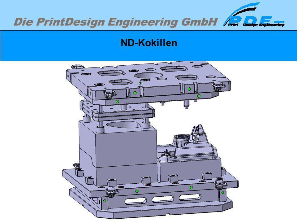 Die PrintDesign Engineering GmbH ND-Kokillen Beispiel einer Niederdruckgußkokille für einen Radträger. Da wir mit unseren Kunden Geheimhaltungsvereinb