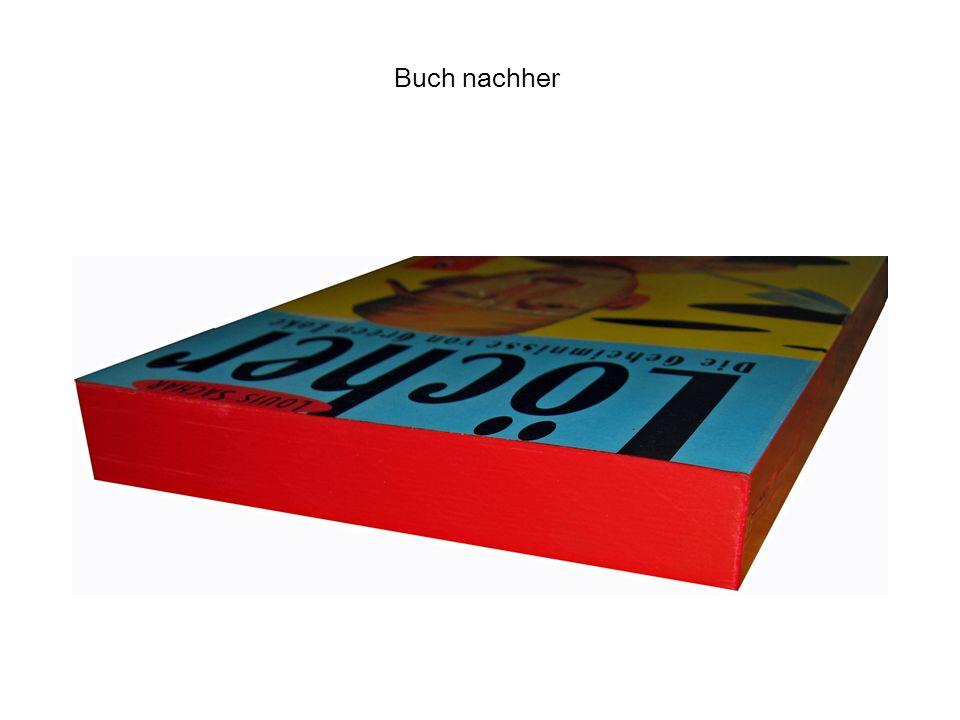 Buch nachher