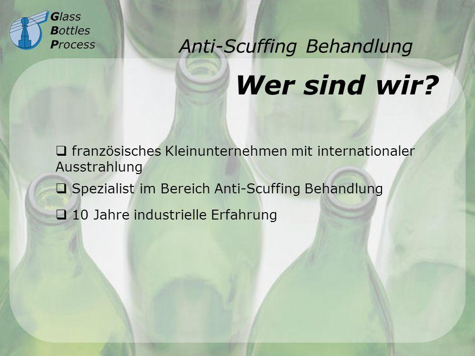 Anti-Scuffing Behandlung Scuffing - Definition Glassabnutzung 10987654321 Jahre