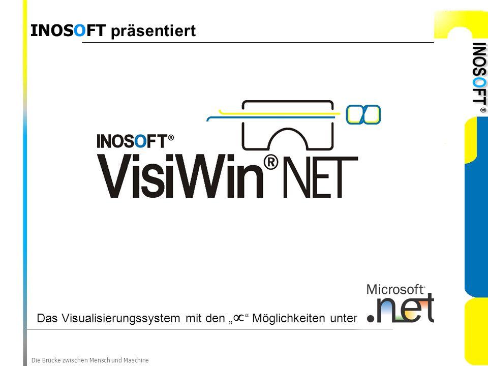 Die Brücke zwischen Mensch und Maschine Das Visualisierungssystem mit den Möglichkeiten unter INOSOFT präsentiert