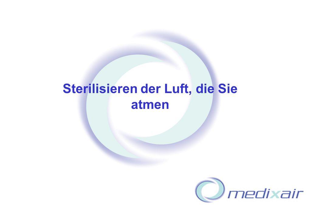 HHW Herbert-Heinz-Winkler GmbH Macht das Leben, die Arbeit und das Atmen leichter – Your key to Air Purity Medicaire 15 Sterilisieren der Luft, die Si