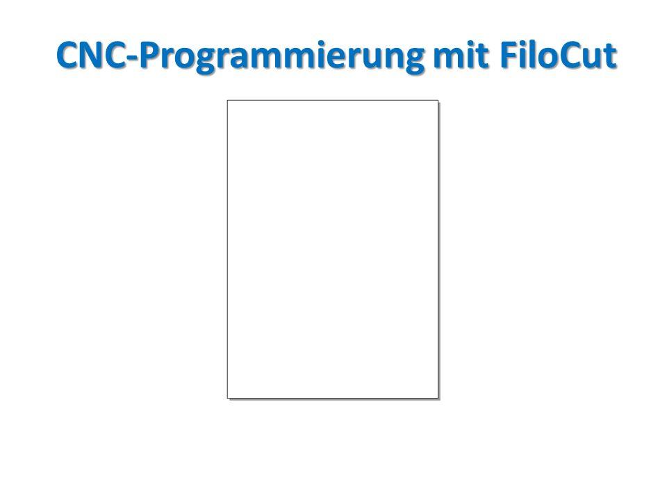 CNC-Programmierung mit FiloCut