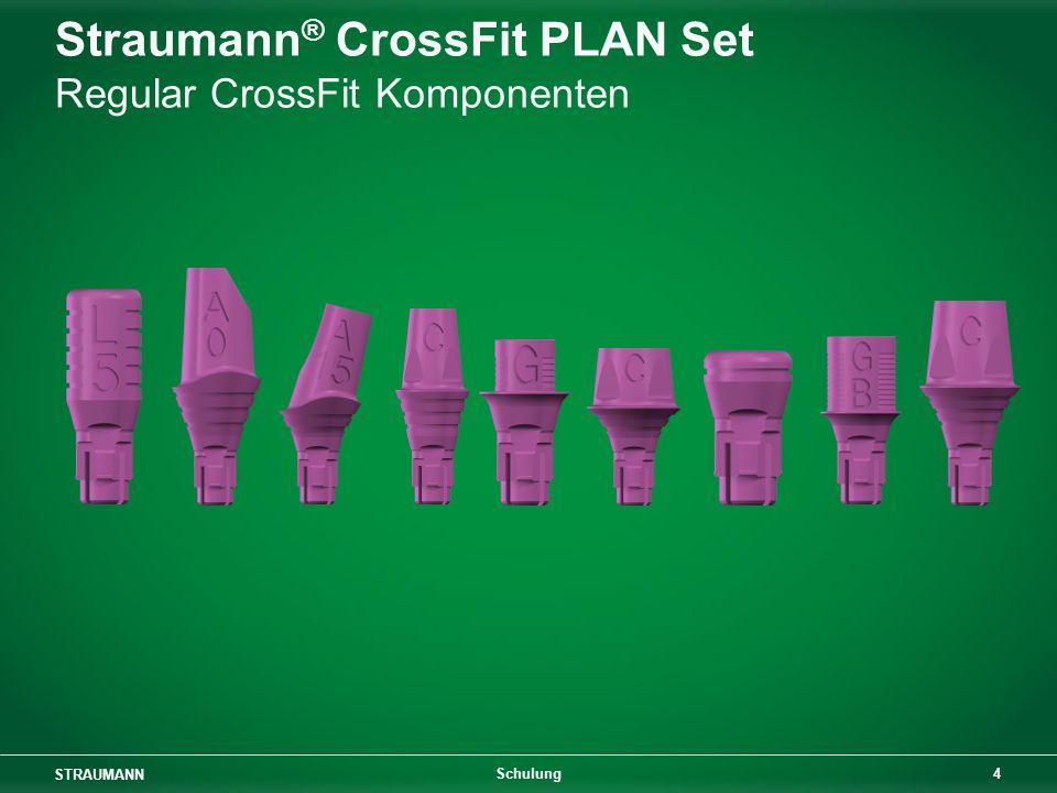 STRAUMANN 4 Schulung Straumann ® CrossFit PLAN Set Regular CrossFit Komponenten