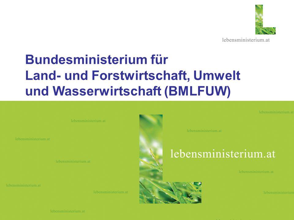 29. Mai 2006 VO Empirische Umweltpolitik Prof. Steininger, Eva Gleissenberger, BMLFUW2