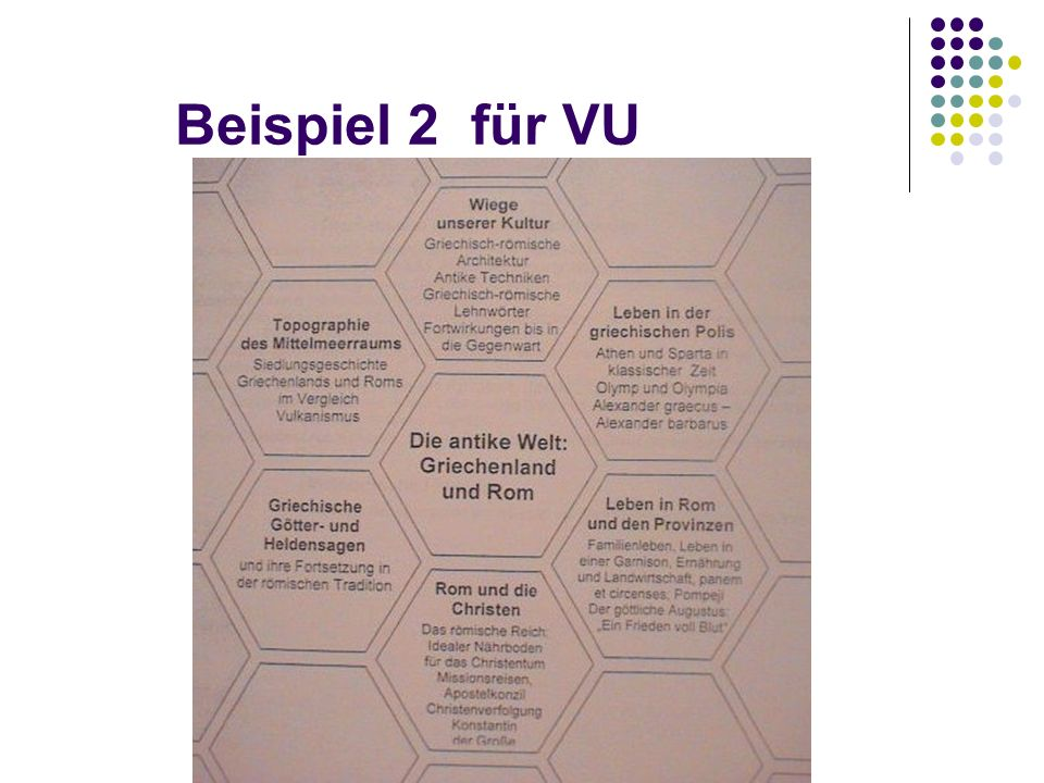 ad libertatem vocati estis (Gal. 5,13) Beispiel 2 für VU