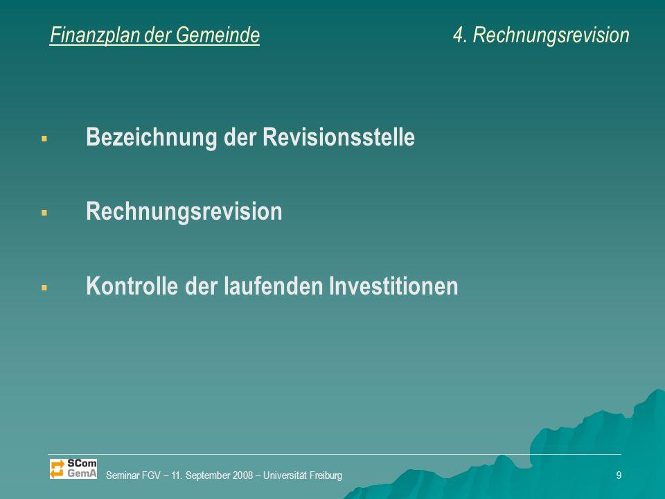 Finanzplan der Gemeinde Der Staatsrat erlässt Mindestvorschriften zur Erstellung des Finanzplans (Art.