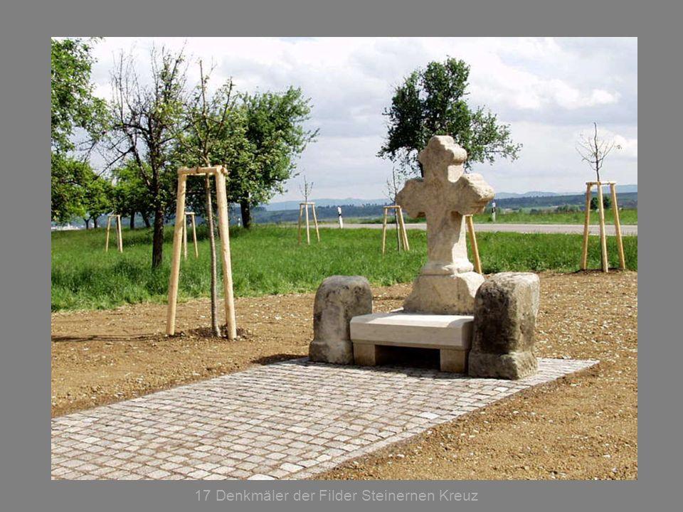 17 Denkmäler der Filder Steinernen Kreuz