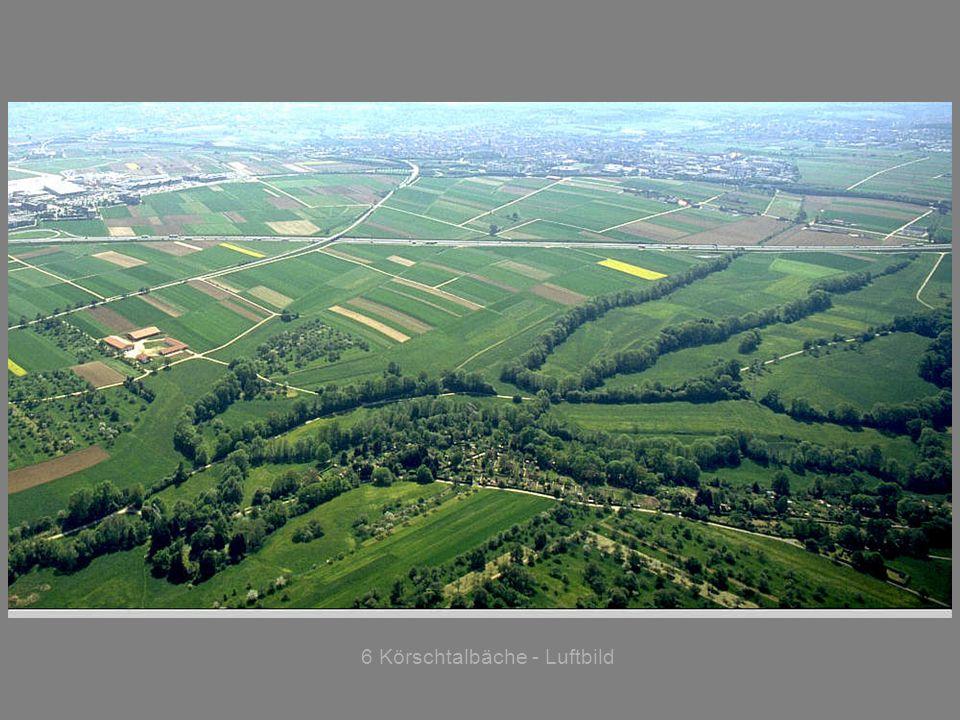6 Körschtalbäche - Luftbild