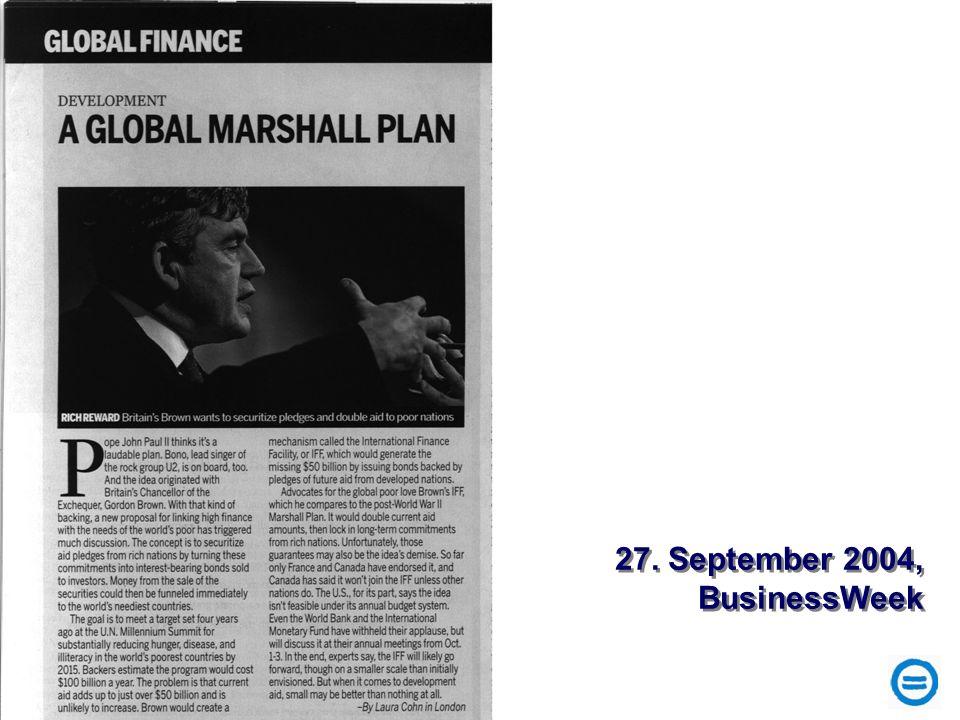 27. September 2004, BusinessWeek 27. September 2004, BusinessWeek
