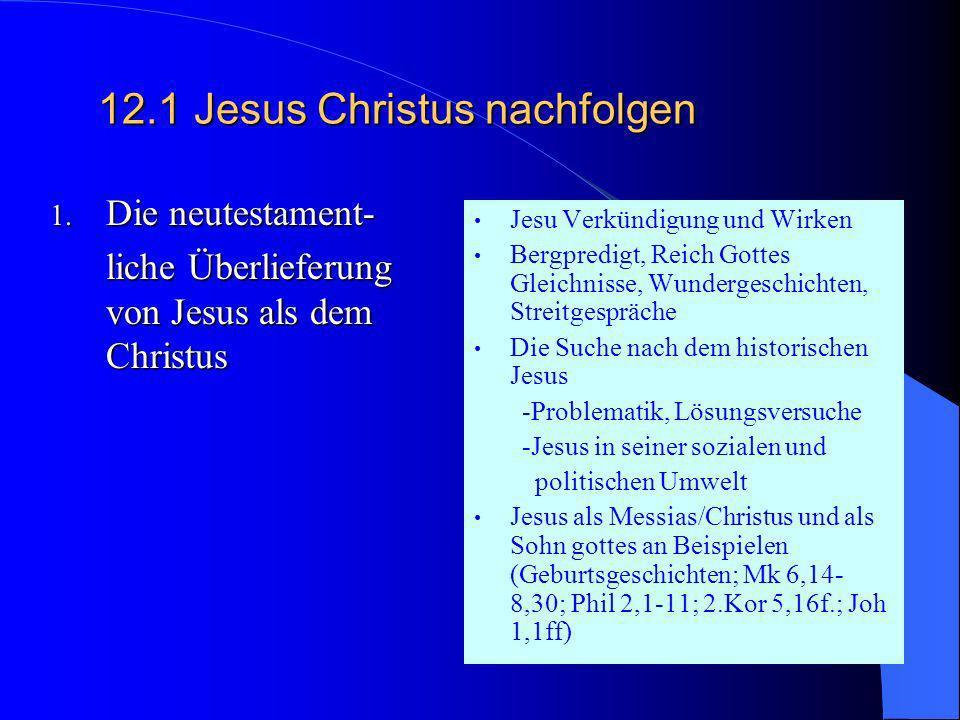 11.2 Heilige Schriften(en) verstehen Fakultative Themen Rezeptionsgeschichte biblischer Personen (ev.-kath. Projekt) Rolle und Bedeutung der FrauBibli