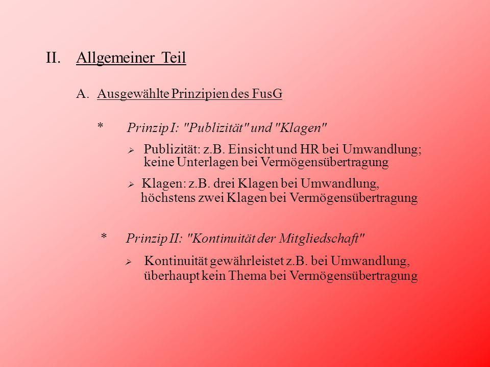 III.Besonderer Teil C.Zur Umwandlung AA a b c a b c sog.
