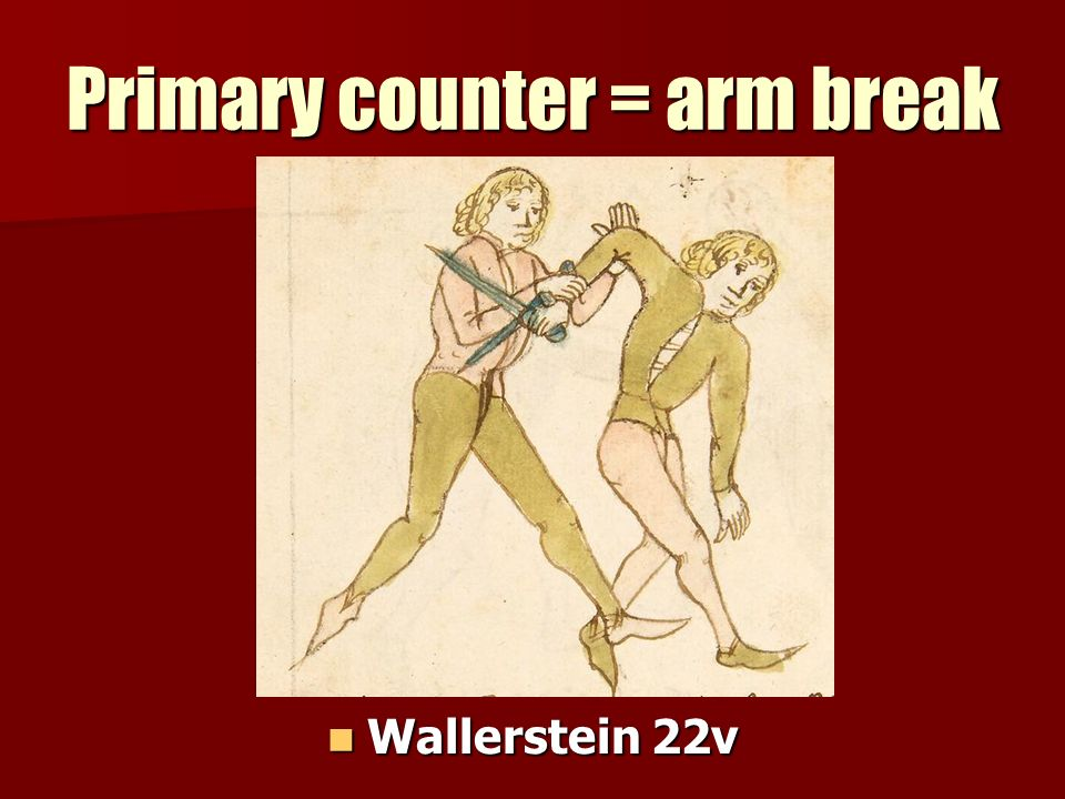 Primary counter = arm break Wallerstein 22v Wallerstein 22v