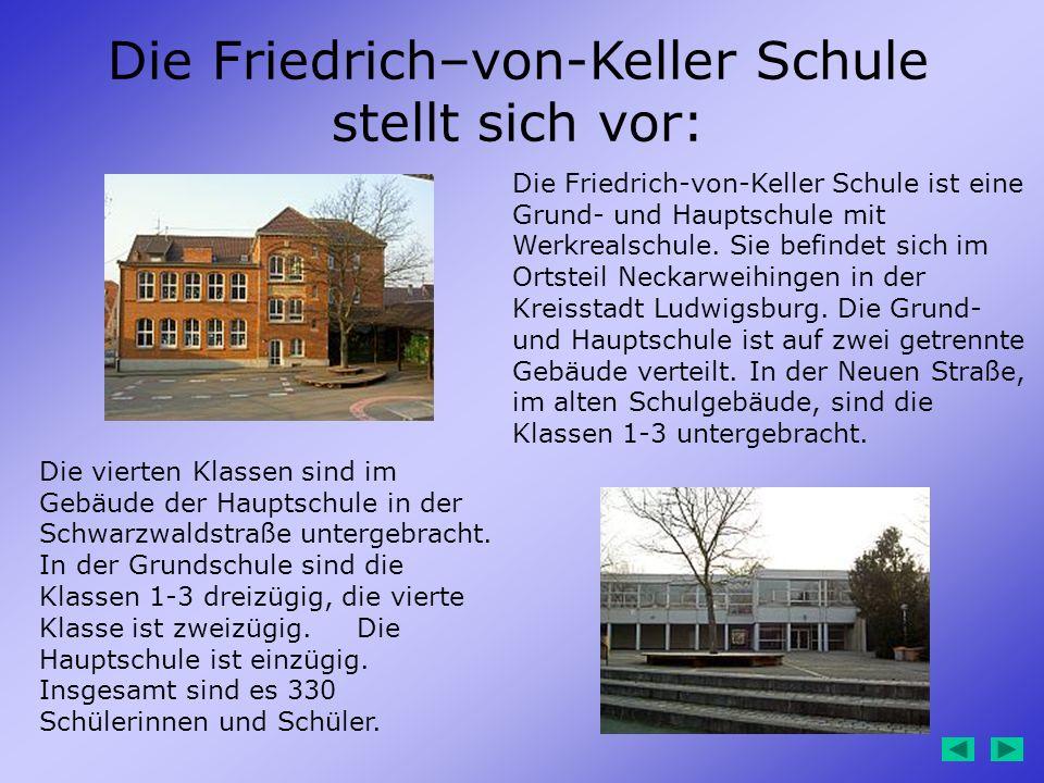 Die Friedrich–von-Keller Schule stellt sich vor: Die Friedrich-von-Keller Schule ist eine Grund- und Hauptschule mit Werkrealschule. Sie befindet sich