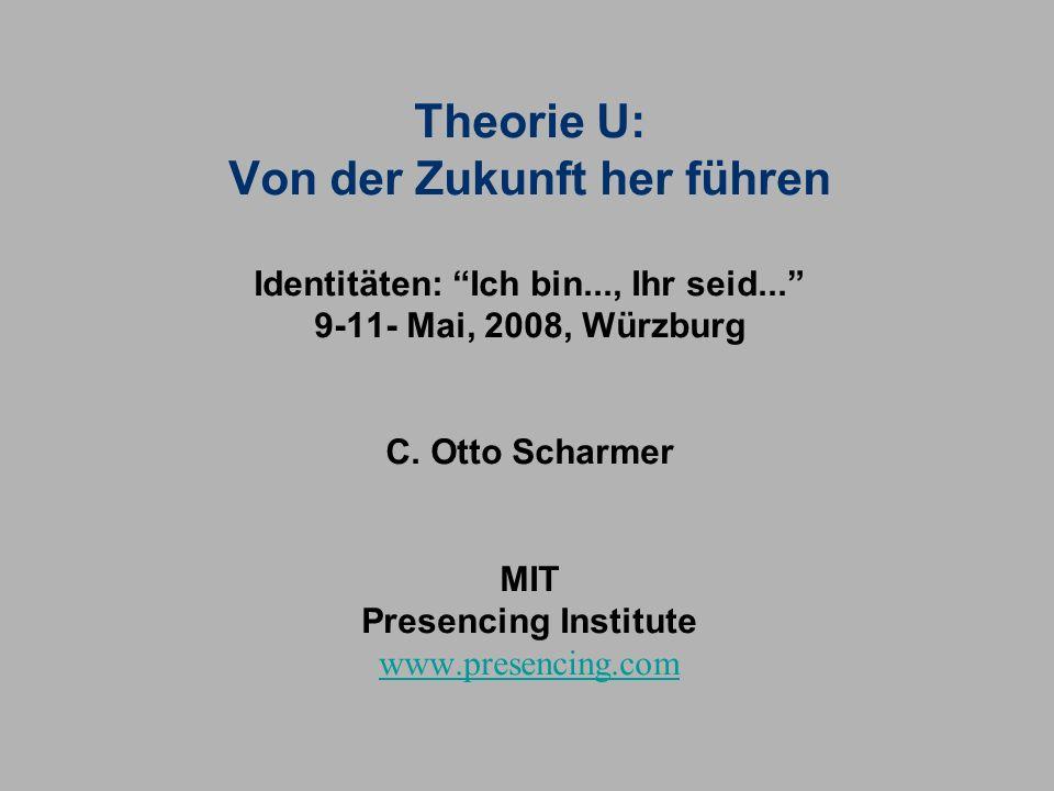 Theorie U: Von der Zukunft her führen Identitäten: Ich bin..., Ihr seid...