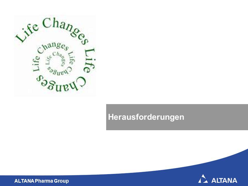 ALTANA Pharma Group 11 Herausforderungen