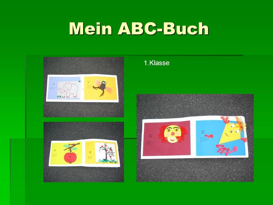 Mein ABC-Buch 1.Klasse