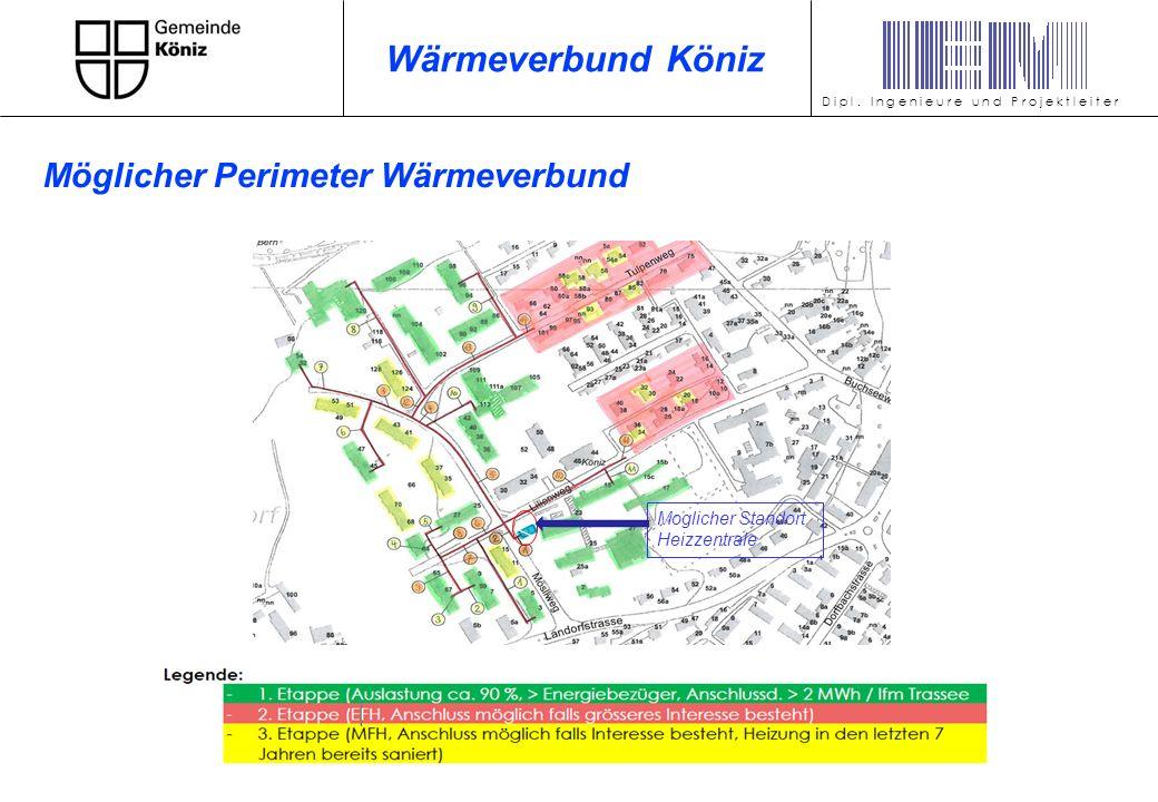 Wärmeleistungsbedarf: 4080 kW Nutzenergiebedarf: 8995 MWh/a Primärenergieträger: Holzschnitzel D i p l.