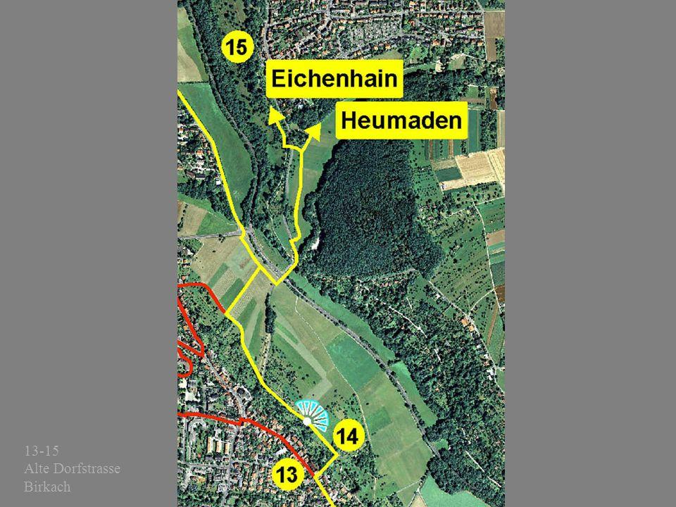 13-15 Alte Dorfstrasse Birkach