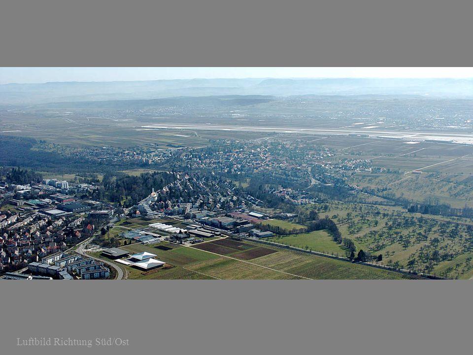 Luftbild Richtung Süd/Ost