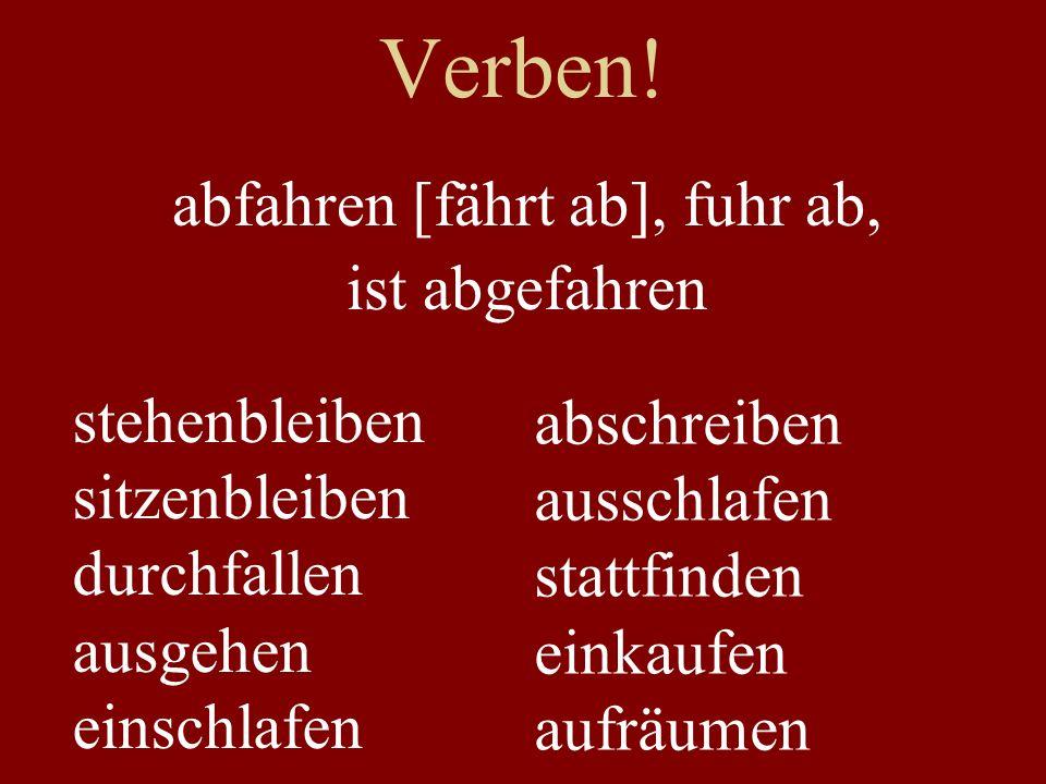 Verben.