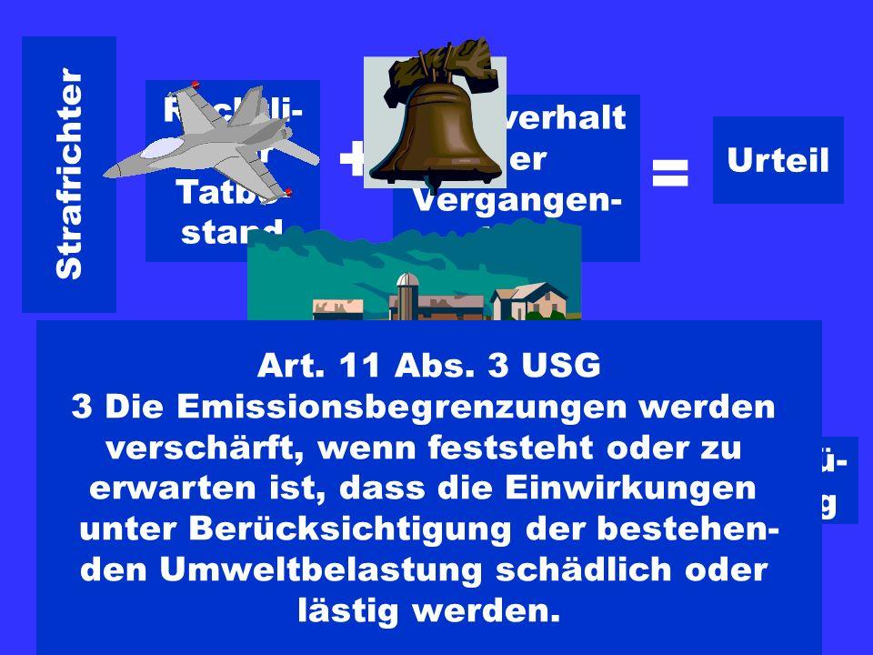 Strafrichter Sachverhalt der Vergangen- heit + Rechtli- cher Tatbe- stand = Urteil Verwaltung Rechtli- cher Tatbe- stand + Sachverhalt der Zukunft (Ve