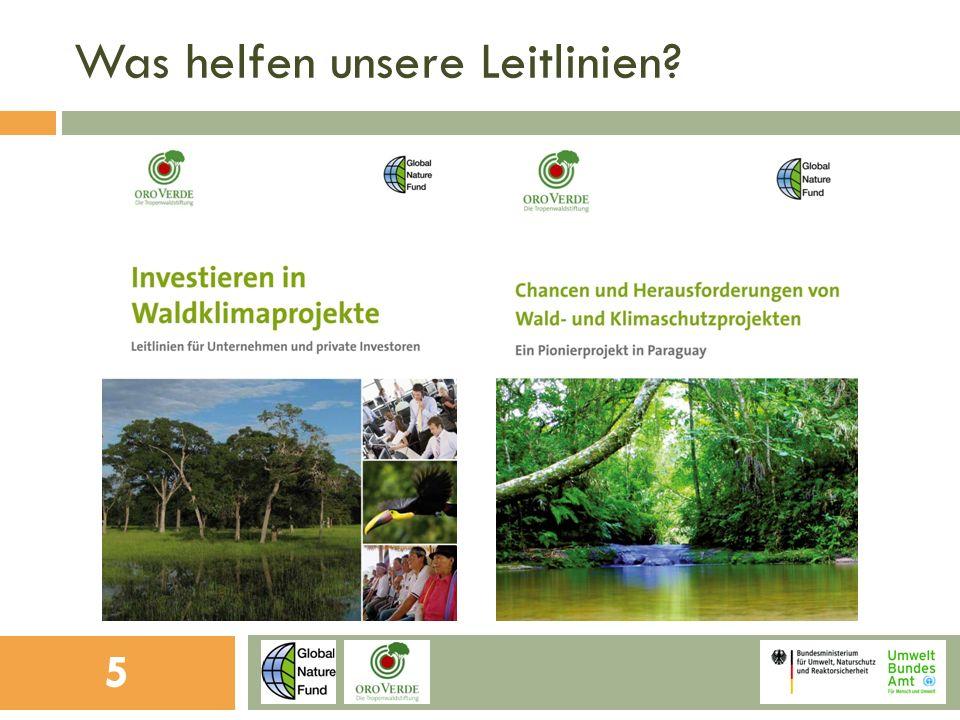 Aspekte der Treibhausgasberechnung Langfristige Absicherung der Investition.