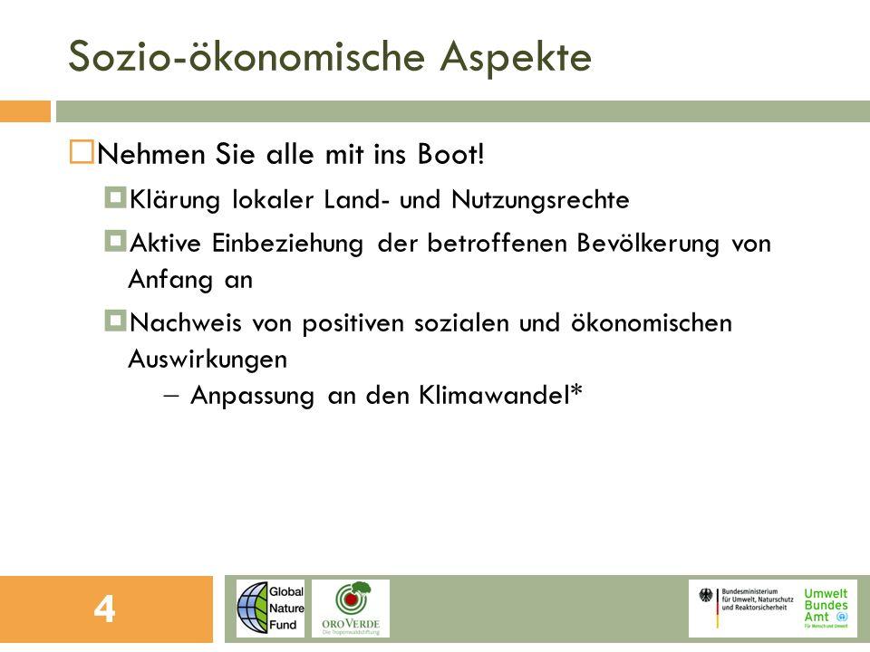 Ökologische Aspekte Schaffen und schützen Sie mit Ihrer Investition ökologisch wertvolle Wälder.