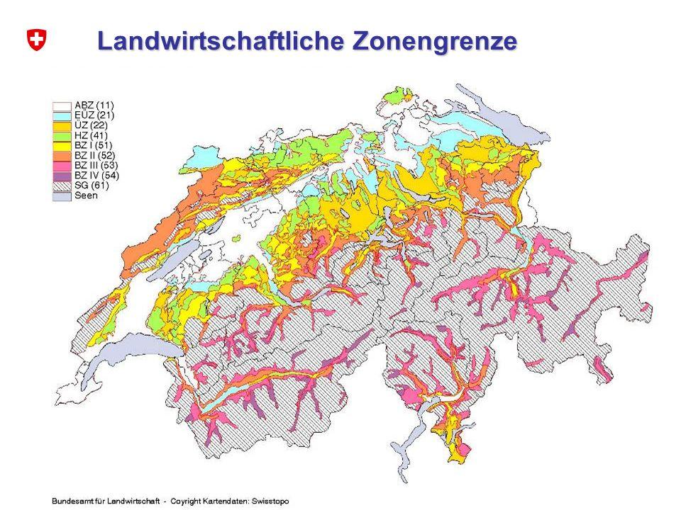 7 Bodenerosion in den Alpen mat Landwirtschaftliche Zonengrenze