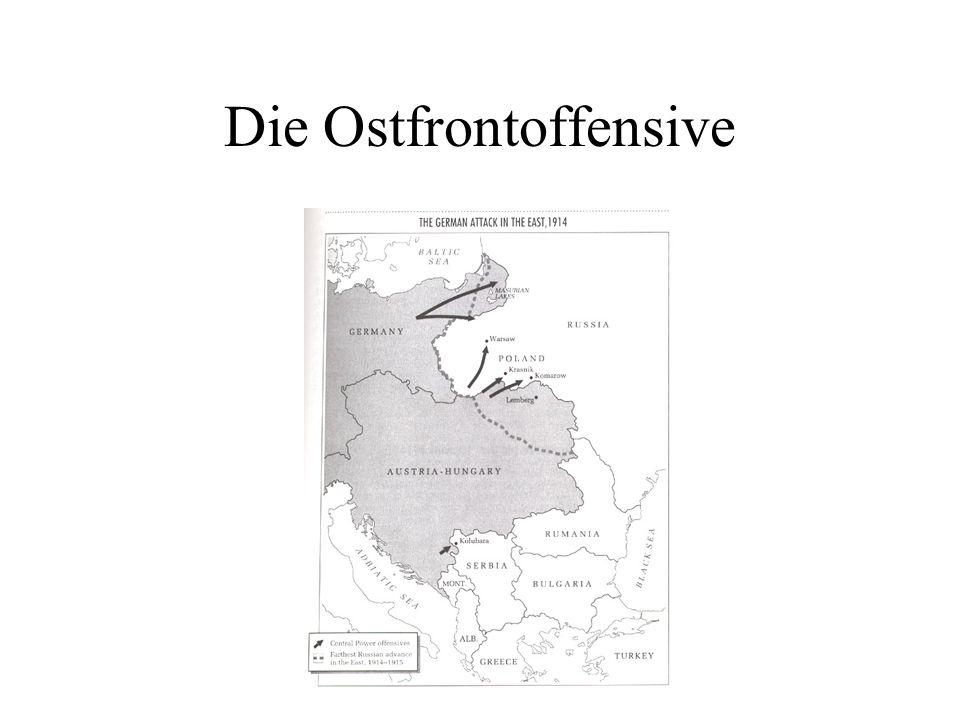 Die Ostfrontoffensive