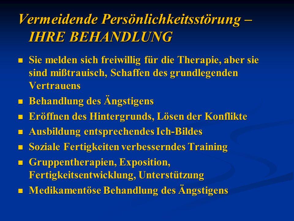 Sie melden sich freiwillig für die Therapie, aber sie sind mißtrauisch, Schaffen des grundlegenden Vertrauens Sie melden sich freiwillig für die Thera