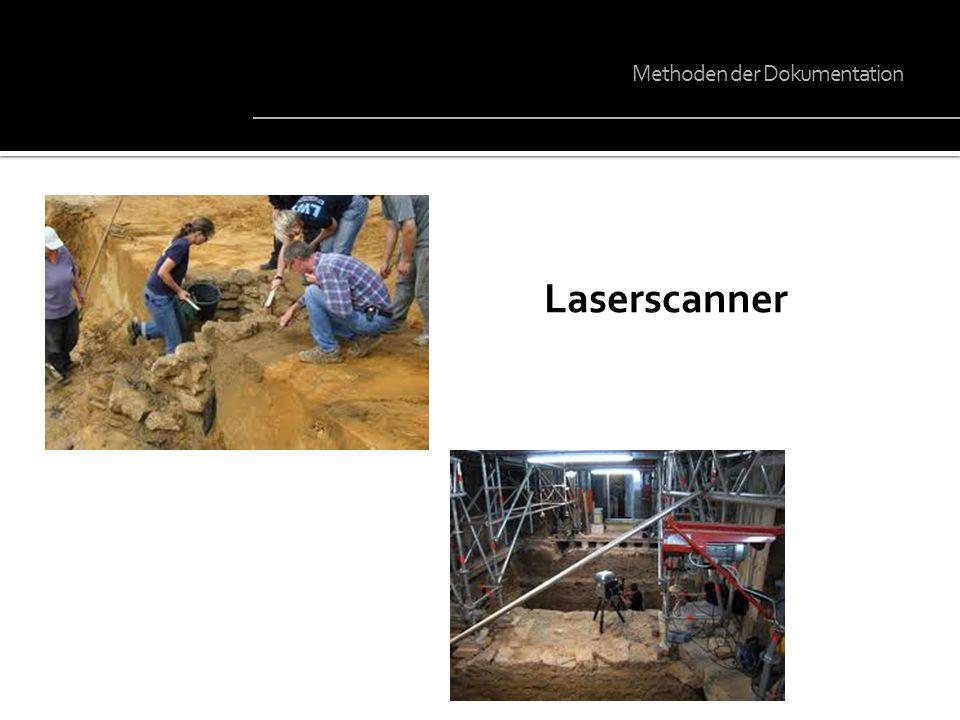 Laserscanner Methoden der Dokumentation
