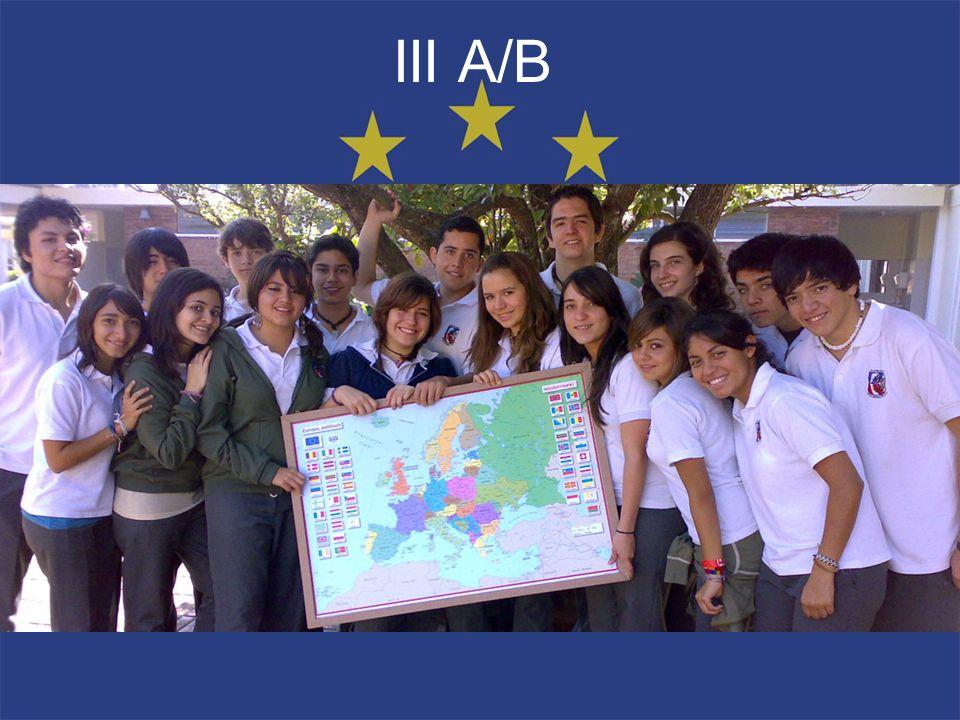 III A/B B. Dávila, Marcela Bolaños, Ana Lucia Cabrera, Haroldo Camey, Andrea Chávez, Isabel Cifuentes, Silvia Cordón, Andrés Del Valle, Alejandra De L