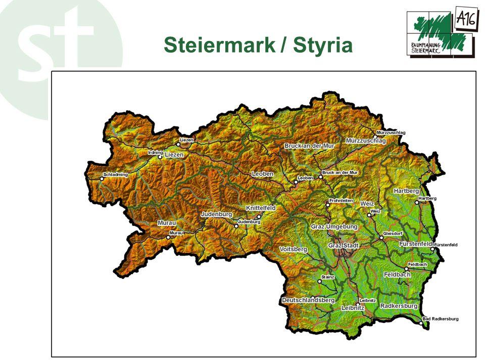 www.raumplanung.steiermark.at Spatial structure