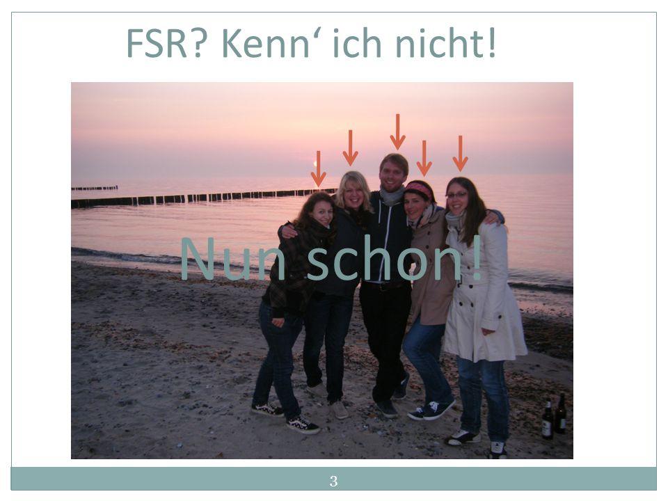 3 FSR? Kenn ich nicht! Nun schon!