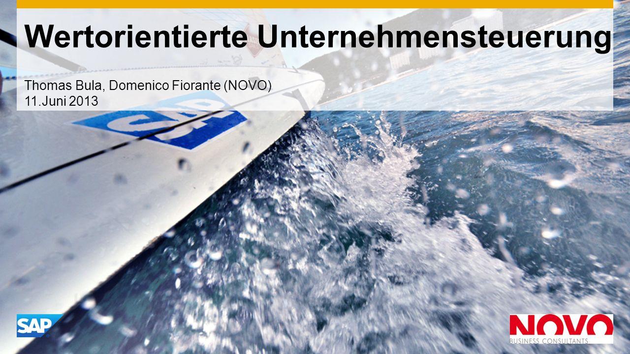 Wertorientierte Unternehmensteuerung Thomas Bula, Domenico Fiorante (NOVO) 11.Juni 2013