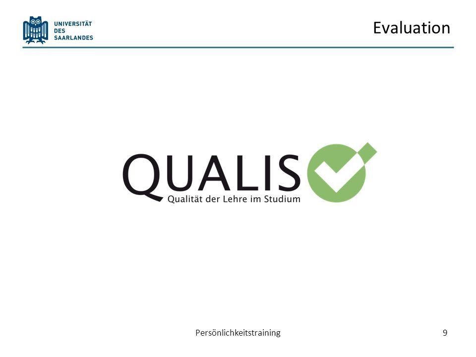 Evaluation Persönlichkeitstraining9