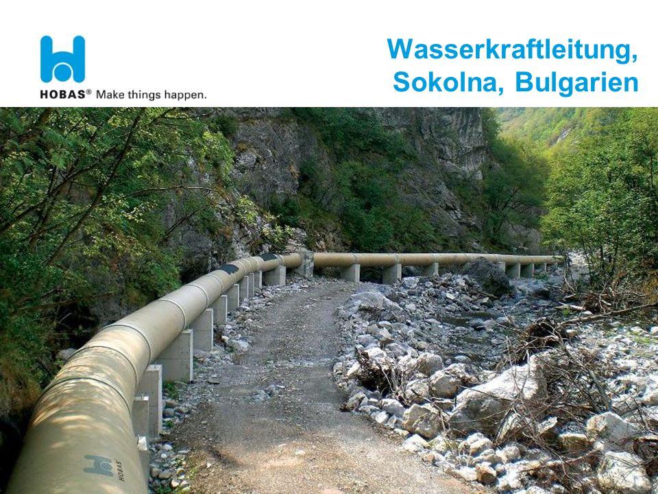DST 091109 21 Wasserkraftleitung, Sokolna, Bulgarien