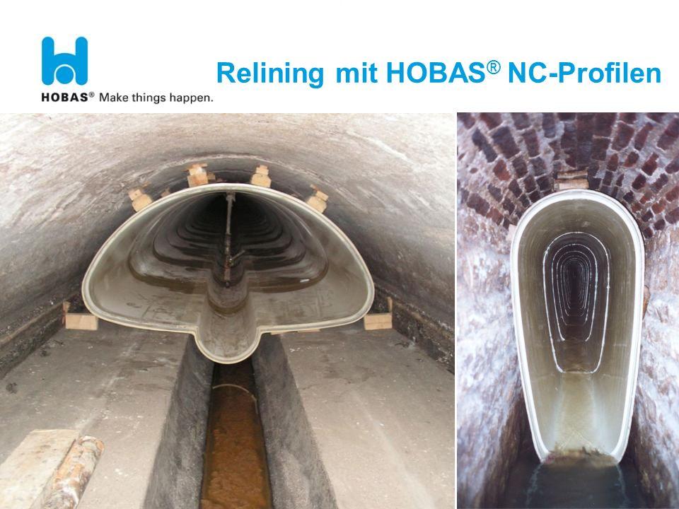 30 Relining mit HOBAS ® NC-Profilen