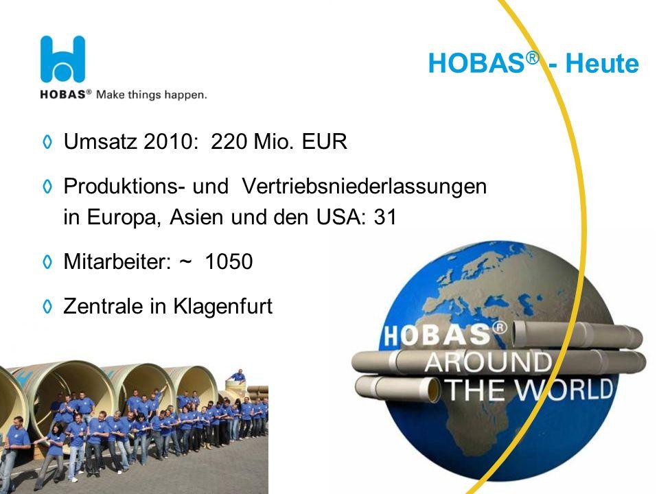 DST 091109 28 HOBAS ® Vortriebsrohre Novo Mesto, SLO DN 800 mm; PN1 Total length: 430 m Contractor: CGP d.d.