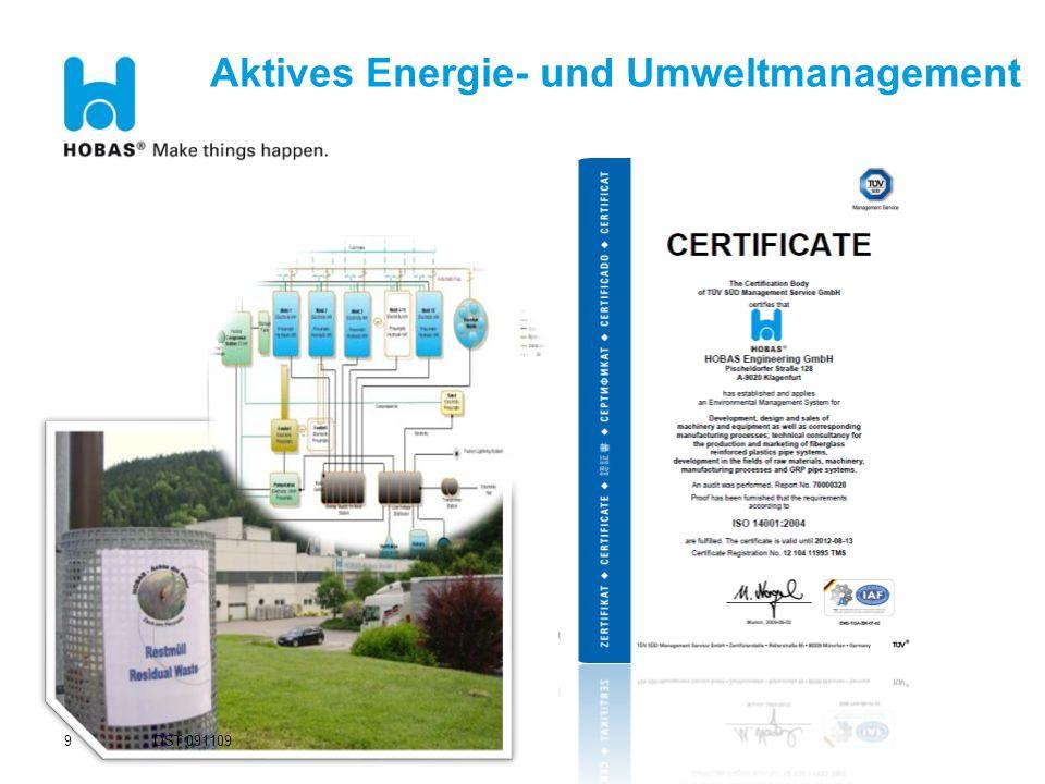 Aktives Energie- und Umweltmanagement 9 DST 091109