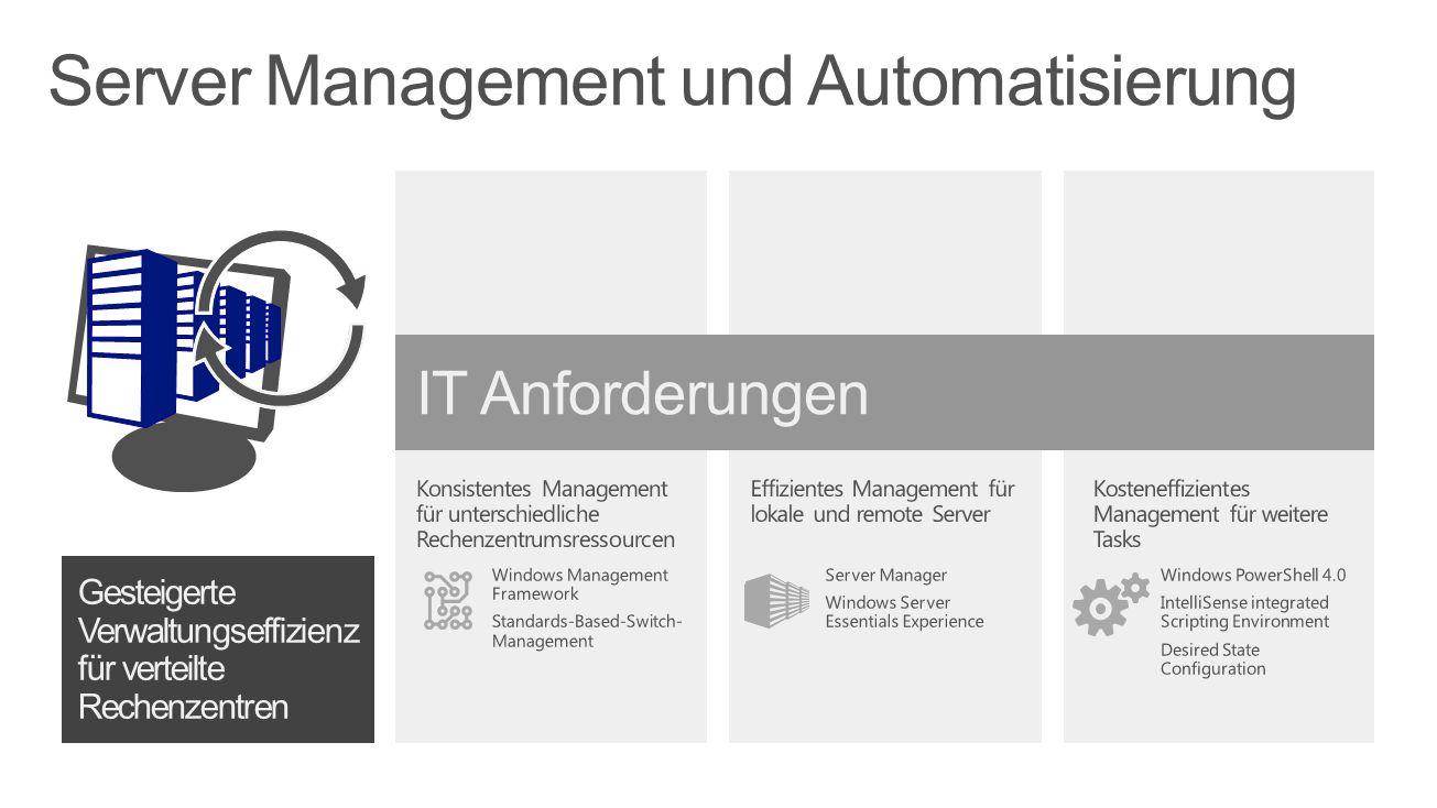 Server Management und Automatisierung