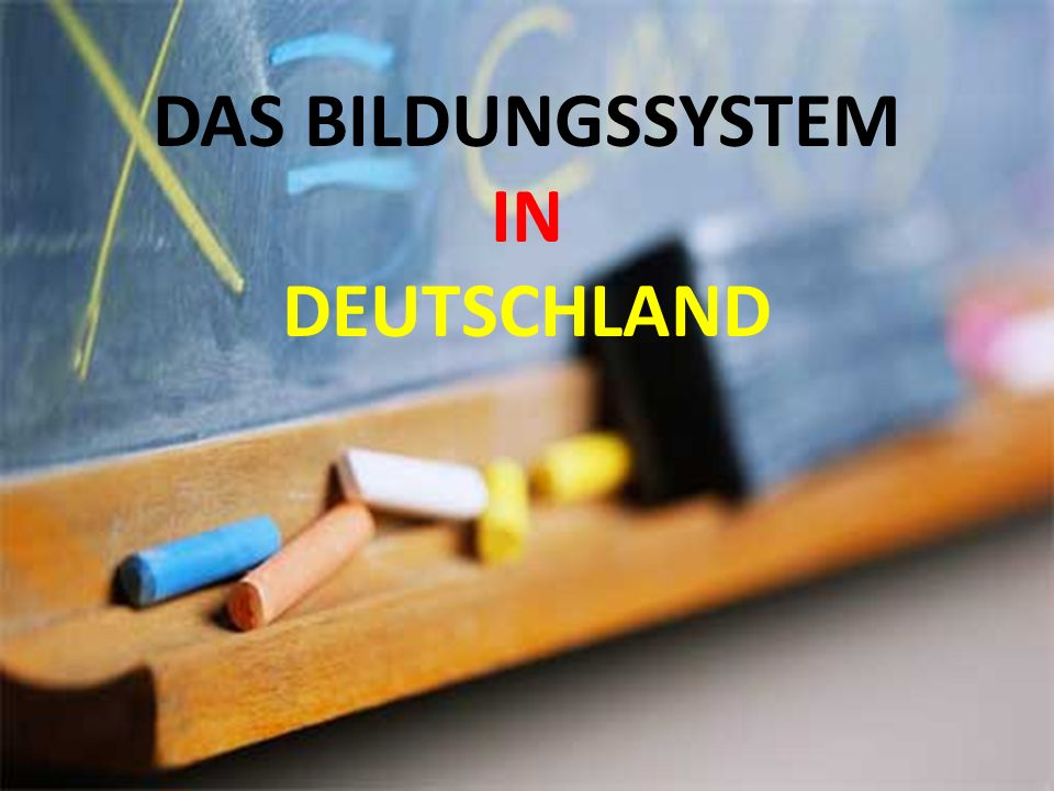 Das Schulsystem in Deutschland Alle Kinder, die in Deutschland leben, müssen zur Schule gehen.