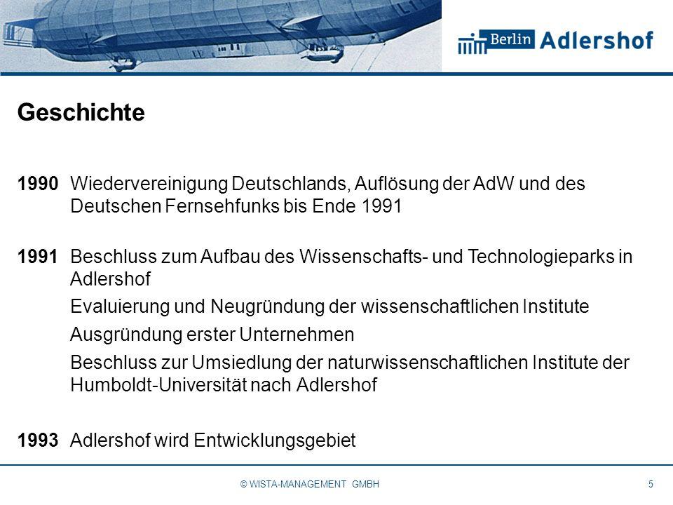 Geschichte 1990Wiedervereinigung Deutschlands, Auflösung der AdW und des Deutschen Fernsehfunks bis Ende 1991 1991Beschluss zum Aufbau des Wissenschaf