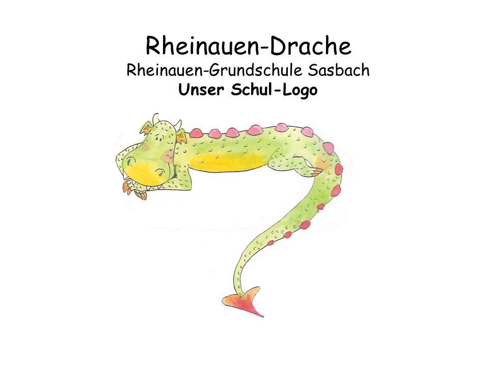 Rheinauen-Drache Rheinauen-Grundschule Sasbach Unser Schul-Logo