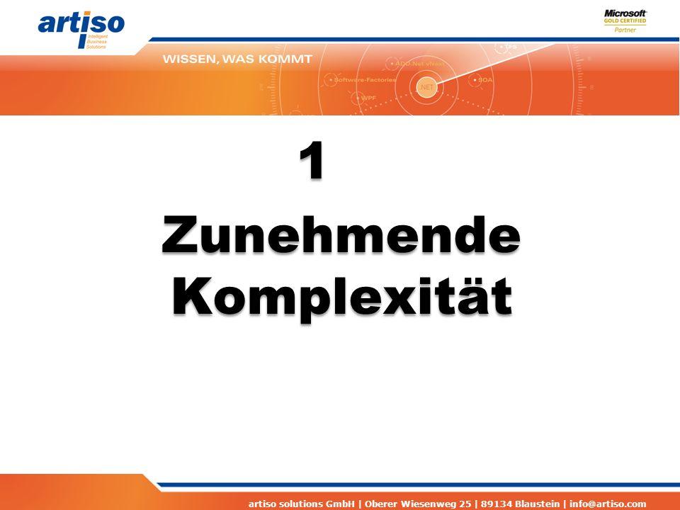 artiso solutions GmbH | Oberer Wiesenweg 25 | 89134 Blaustein | info@artiso.com Problemsituationen Bewährte Prozesse werden beibehalten obwohl das Umfeld sich verändert hat Moderne Softwareentwicklung erfordert geänderte Team- und Projektstrukturen die aber wiederum geeignete Prozesse voraussetzen.