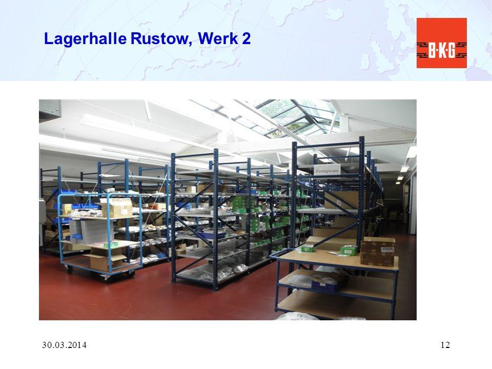 Lagerhalle Rustow, Werk 2 30.03.201412